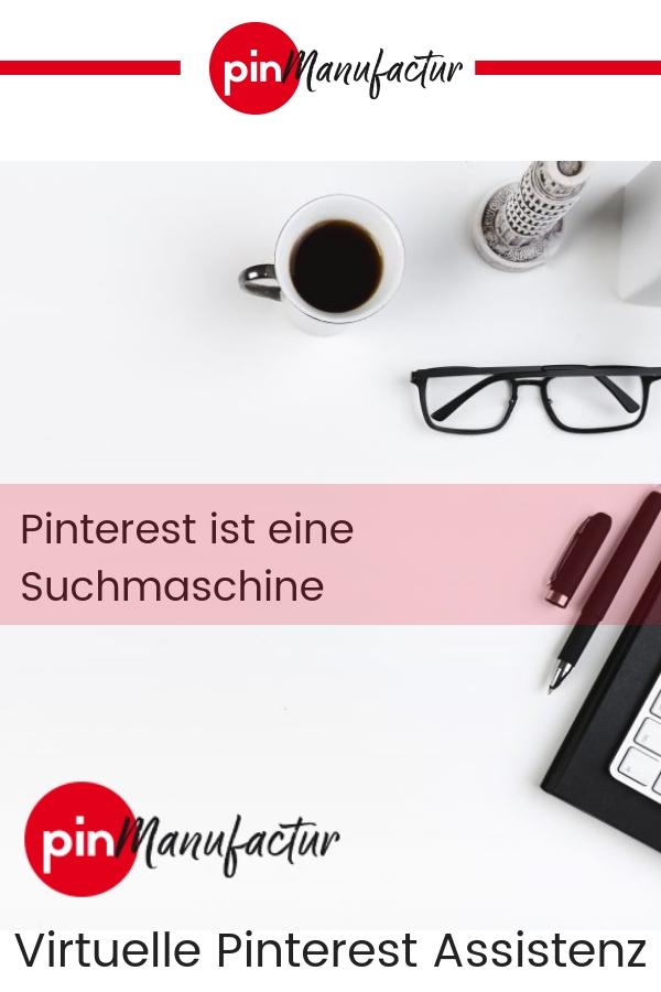 Pinterest ist eine Suchmaschien die mit Bildern arbeitet.