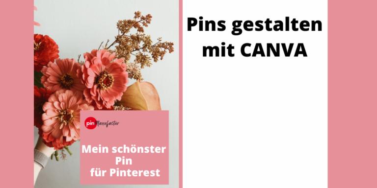 Canva, das Grafiktool auch für Pinterest